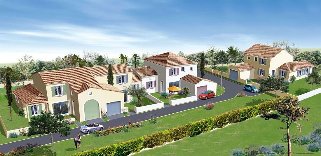 Quatre Magnifique maisons coeur de centre-ville à Breuillet proximité Royan 17 Charente Maritime