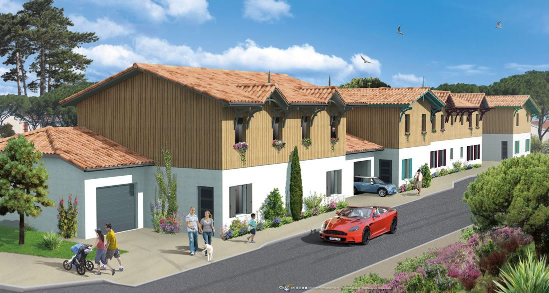 Six Villas 3 chambres T4 avec garage, proximité de tous commerces Andernos-les-Bains 33 Gironde Nouvelle Aquitaine