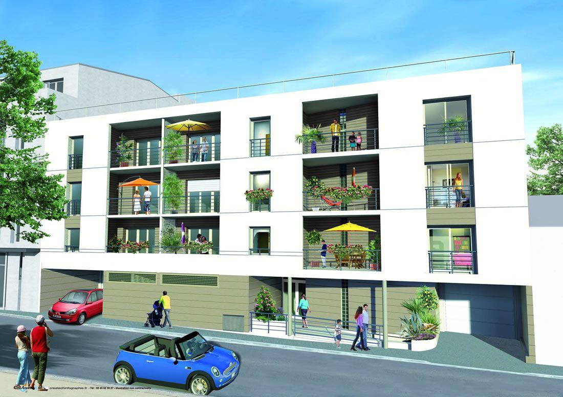 Appartements T2, T3 et T4 au coeur du centre ville, proximité commerces à Mérignac, Bordeaux, Gironde, Nouvelle Aquitaine
